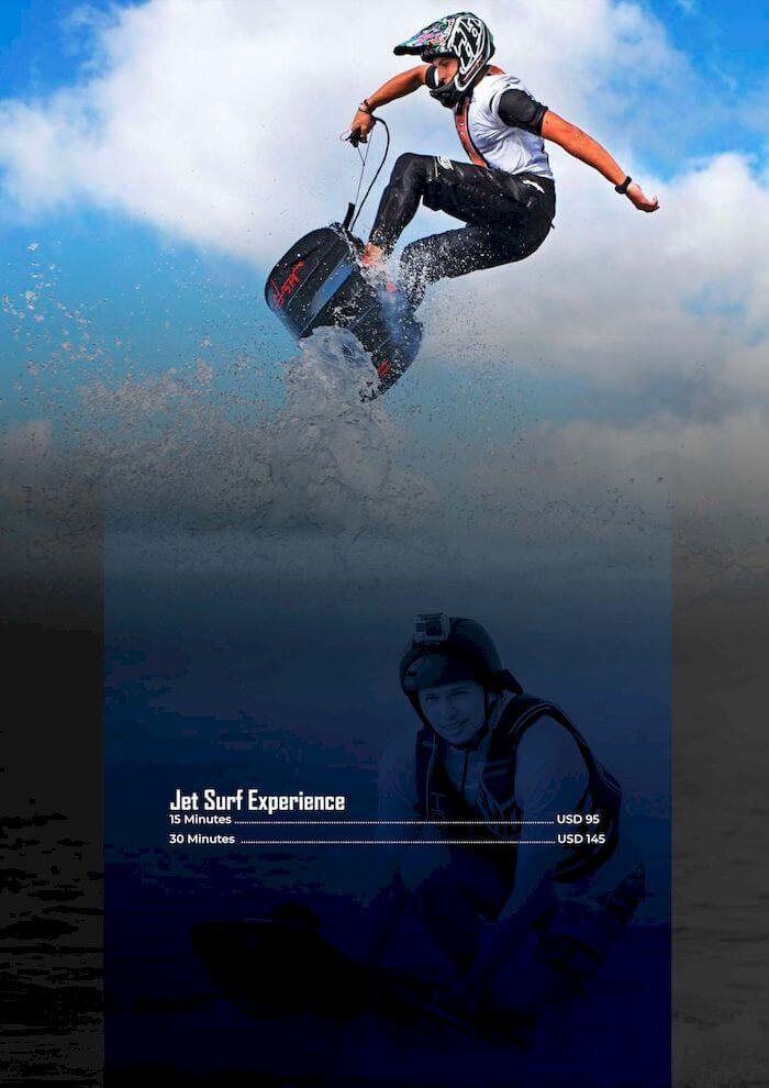 Jet Surf Experience
